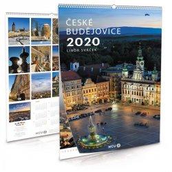 Kalendář 2020 - České Budějovice - nástěnný