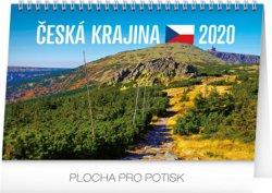 Kalendář stolní 2020 - Česká krajina, 23,1 × 14,5 cm