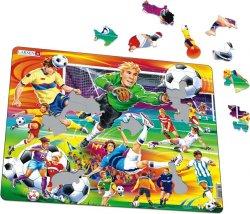Puzzle MAXI - Fotbal - soccer/65 dílků