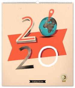 Kalendář nástěnný 2020 - Dominik Miklušák, 48 × 56 cm