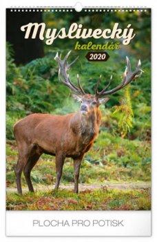Kalendář nástěnný 2020 - Myslivecký, 33 × 46 cm