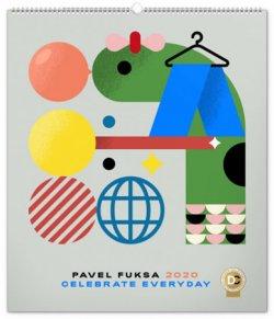Kalendář nástěnný 2020 - Pavel Fuksa, 48 × 56 cm