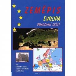 Zeměpis – Evropa, pracovní sešit pro 2. stupeň ZŠ a ZŠ praktické
