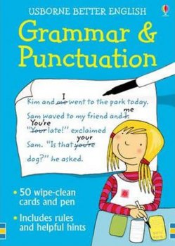 Grammar and Punctuation: 50 wipe-clean cards and pen