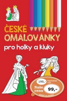 České omalovánky pro holky a kluky