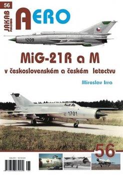 MiG-21 R a M v československém a českém vojenském letectvu