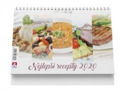 Nejlepší recepty - stolní kalendář 2020
