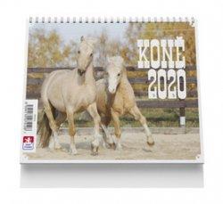 Koně - stolní kalendář 2020