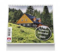 Chalupa - stolní kalendář mini 2020