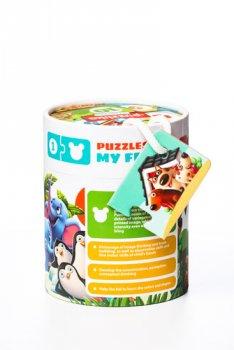 Přátelé: naučné puzzle 20 dílků