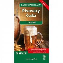 Pivovary Česka 1 : 500 000