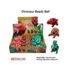 Dinosaurus kuličkami-mačkací(75g),display 12 ks