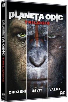 Planeta opic - Trilogie DVD