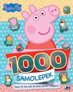 Prasátko Peppa - 1000 samolepek