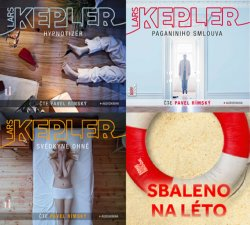 Kepler - CDmp3 (komplet Hypnotizér, Paganiniho smlouva, Svědkyně ohně)