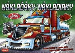 Náklaďáky / Nákladiaky - Turbo Motory + samolepky