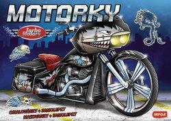 Motorky - Turbo Motory + samolepky