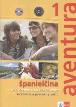 Aventura 1 učebnica s pracovným zošitom +2 CD (sloveská verze)