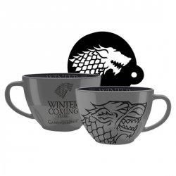 Hrnek Game of Thrones - Stark cappuccino 630 ml