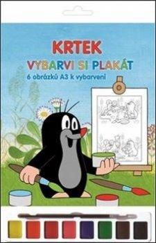 Krtek Vybarvi si plakát