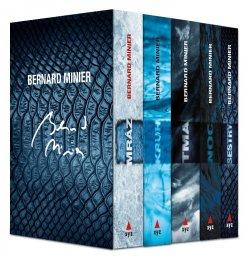 5 x Bernard Minier - box Mráz, Kruh, Tma, Noc, Sestry