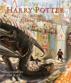 Hp Goblet of Fire Ill. ed