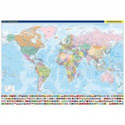 Svět - nástěnná politická mapa 1:22 000 000