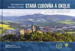 Stará Ľubovňa a okolie z neba