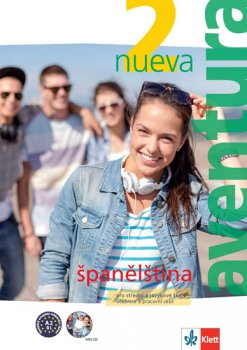 Aventura nueva 2 (A2-B1) – učebnice s pracovním sešitem + CD MP3