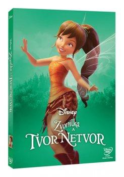 Zvonilka a tvor Netvor DVD - Edice Disney Víly