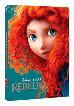 Rebelka DVD - Disney Pixar edice