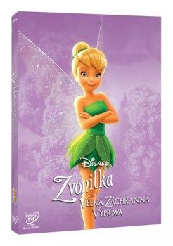 Zvonilka a velká záchranná výprava DVD - Edice Disney Víly