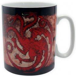 Hrnek Game of Thrones - Targaryen 460 ml