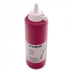 LUKAS akrylová barva TERZIA - Alizarin crimson 500 ml