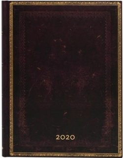Diář Black Moroccan 2020 HOR