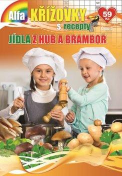 Křížovky s recepty 3/2019 - Jídla z hub a brambor