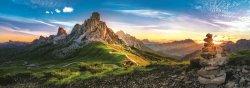 Passo di Giau, Dolomity: Panoramatické puzzle/1000 dílků