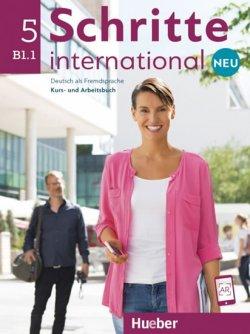 Schritte international Neu 5 - Kursbuch + Arbeitsbuch mit Audio-CD