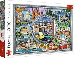 Dovolená v Itálii: Puzzle/1000 dílků