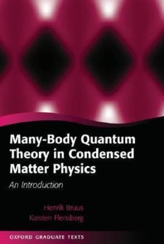 MANY BODY QUANT THEORY COND MA