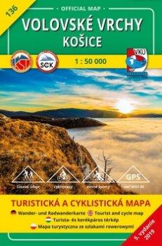 Volovské vrchy Košice 1:50 000