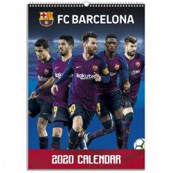 Kalendář nástěnný - FC Barcelona