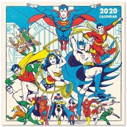 Kalendář nástěnný - DC Originals