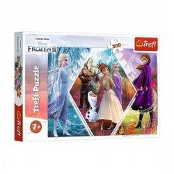 Ledové království 2 - Sestry: Puzzle/200 dílků