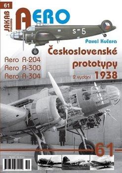 Československé prototypy 1938 - Aero A-204, A-300, A-304