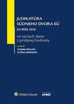 Judikatúra súdneho dvora EÚ za rok 2018 vo veciach dane z pridanej hodnoty