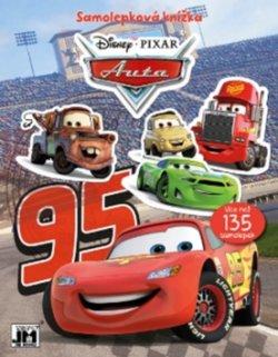 Auta Disney - Samolepková knížka