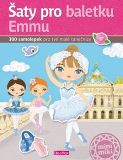Šaty pro baletku Emmu - kniha samolepek
