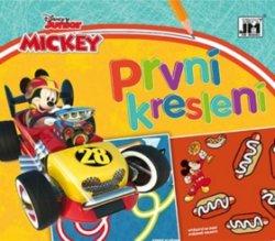 Mickey závod - První kreslení