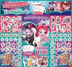 Samolepkový set 500 ks Enchantimals